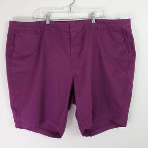 Lane Bryant Bermuda Chino Shorts NWT 26 Petite